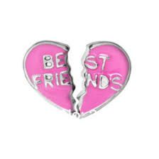 Best Friends Floating Locket Charm 2 Halves