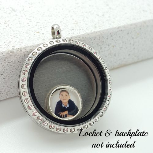 Create Your Own Photo Floating Locket Charm 10mm