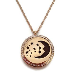 PL008 - Oil Diffuser Stainless Steel Incense Locket
