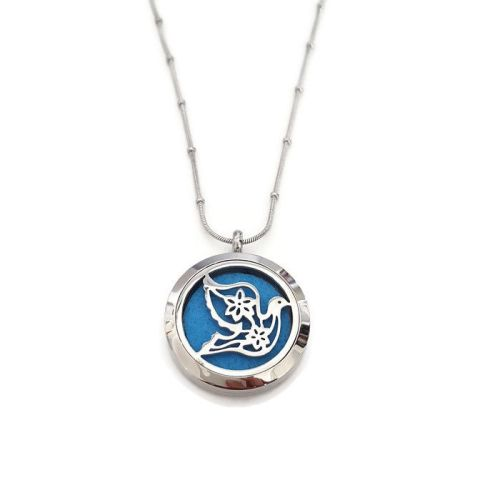 PL010 - Oil Diffuser Stainless Steel Incense Locket