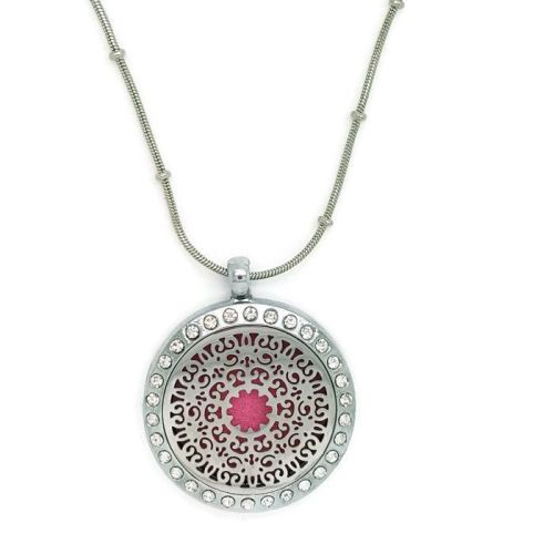 PL001 - Oil Diffuser Stainless Steel Incense Locket