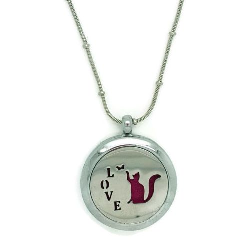 PL002 - Oil Diffuser Stainless Steel Incense Locket