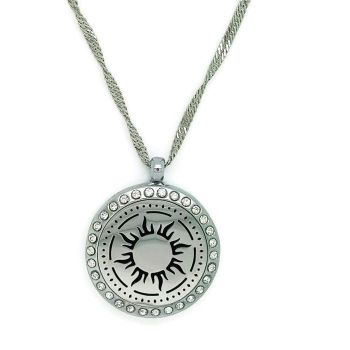 PL007 - Oil Diffuser Stainless Steel Incense Locket