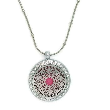 PL013 - Oil Diffuser Stainless Steel Incense Locket