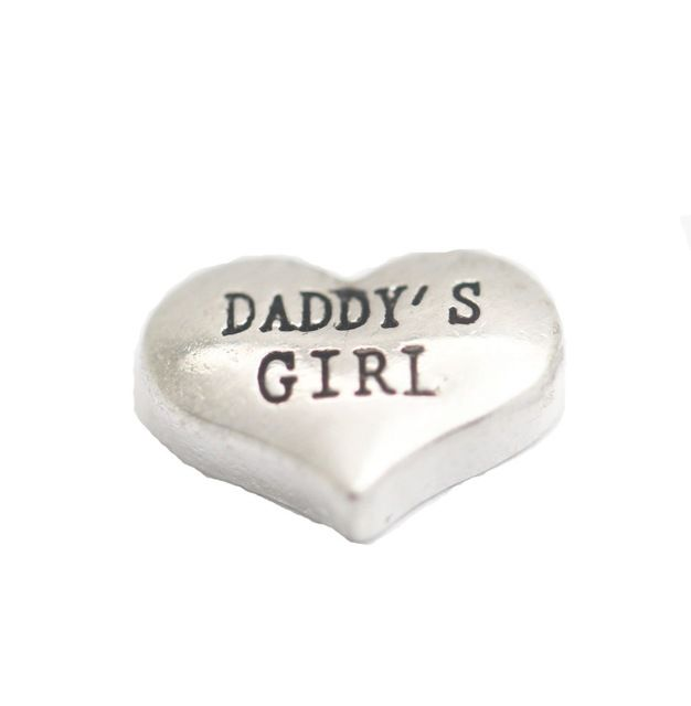 Daddy's Girl Floating Locket Charm