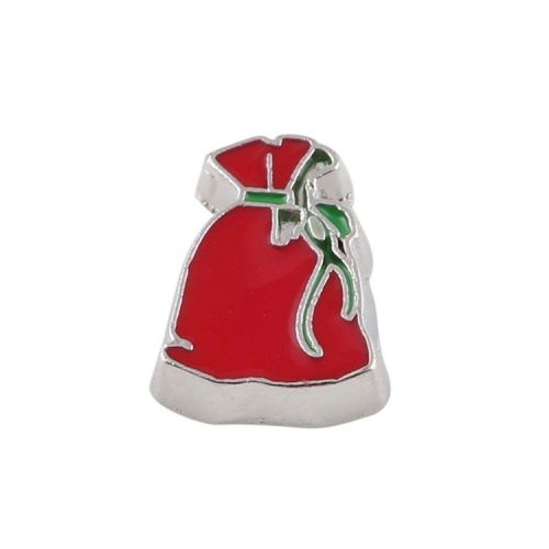 Santa Sack Floating Locket Charm