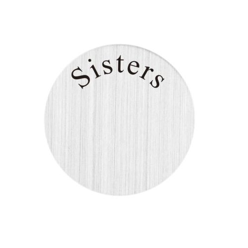 Sisters Floating Locket Back Plate