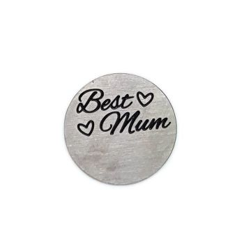 Best Mum Floating Locket Back Plate