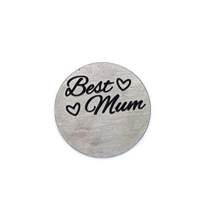 Best Mum Floating Locket Back Plate
