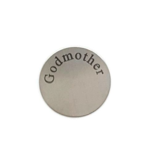 Godmother Floating Locket Back Plate