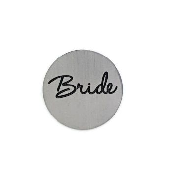Bride Floating Locket Back Plate