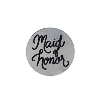 Maid Of Honor Floating Locket Back Plate