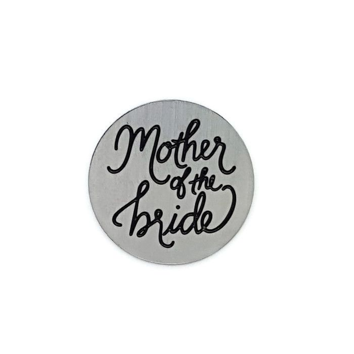Mother Of The Bride Floating Locket Back Plate