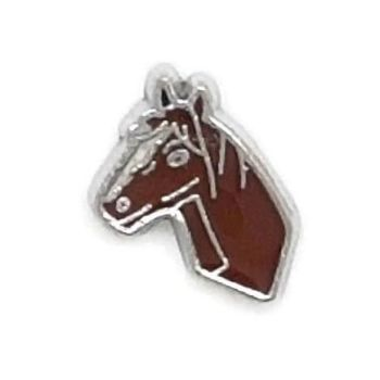Horse Floating Locket Charm