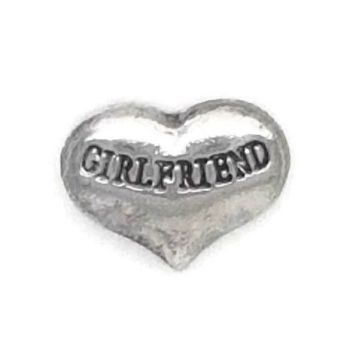 Girlfriend Floating Locket Charm