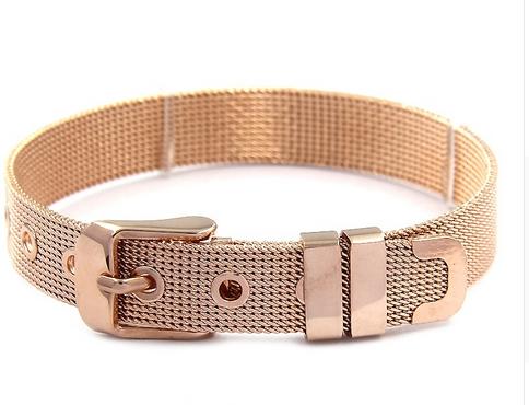 Rose Gold Slider Bracelet