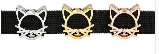 Cat Slider Charm