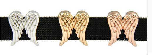 Angel Wings Slider Charm