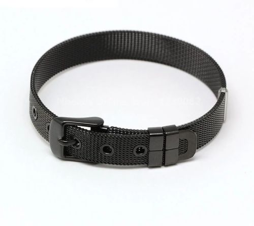 Black Slider Bracelet