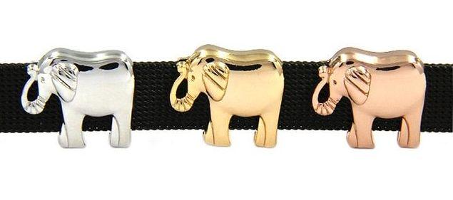 Elephant Slider Charm