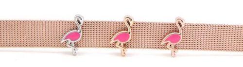Flamingo Slider Charm