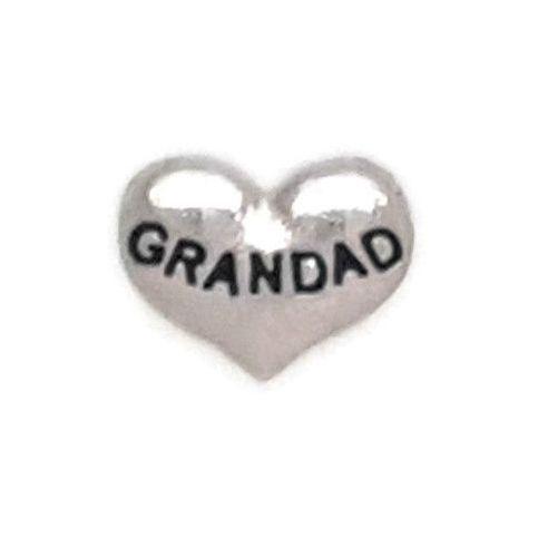Grandad Floating Locket Charm