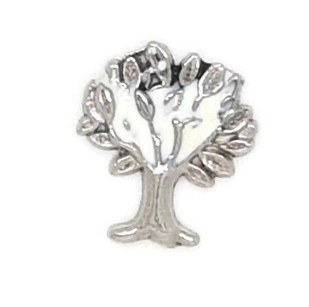 Tree Floating Locket Charm
