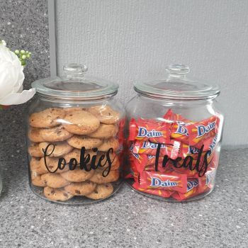 1.9l Personalised Cookie/Treats Jar
