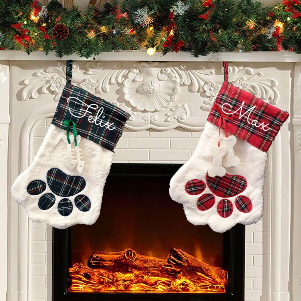 Personalised Dog/Cat Christmas Stocking