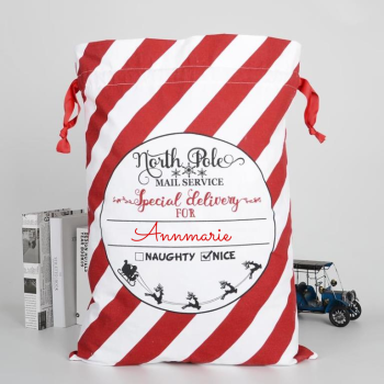 Personalised Christmas Sack Red