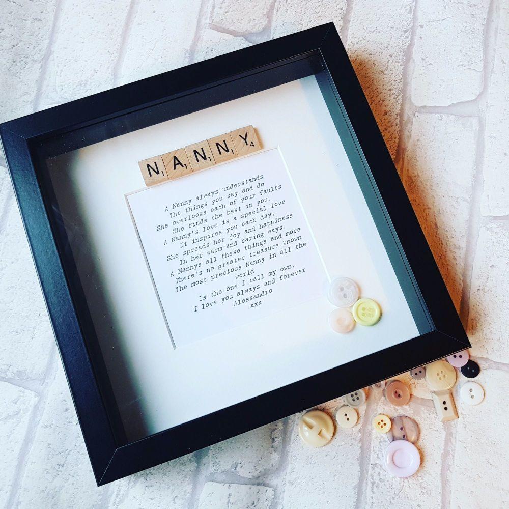 a17631099bd Scrabble Box Frames - Shop