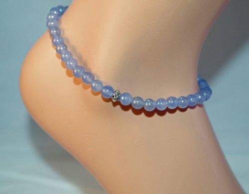 Aquamarine Anklet