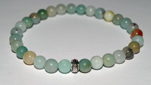 AMELIE HOPE CRYSTAL HEALING AMAZONITE BRACELET