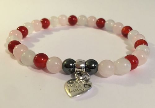AMELIE HOPE CRYSTAL HEALING FERTILITY PREGNANCY BRACELET