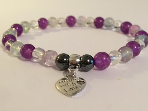 AMELIE HOPE CRYSTAL HEALING EXAM / STUDY / INTERVIEW BRACELET