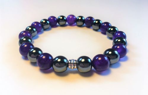**NEW** AMELIE HOPE CRYSTAL HEALING STRESS RELIEF BRACELET