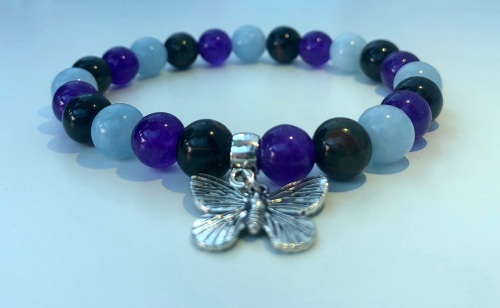 AMELIE HOPE CRYSTAL HEALING TRAVEL PROTECTION BRACELET