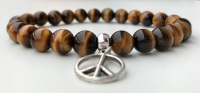 TIGER EYE FOR MEN AMELIE HOPE CRYSTAL HEALING BRACELET