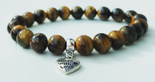 GEMINI TIGER EYE CRYSTAL HEALING BRACELET (May 21 - June 20)