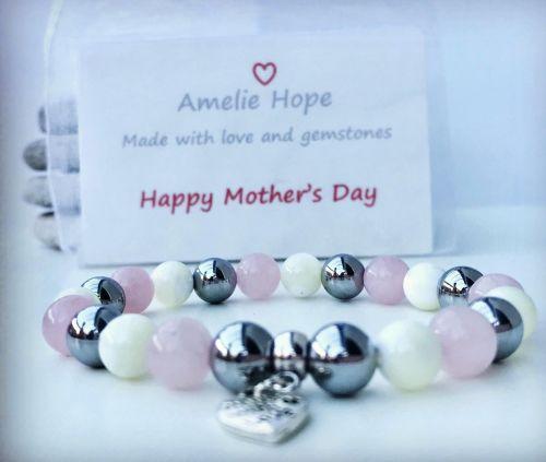AMELIE HOPE CRYSTAL HEALING MOTHERS DAY BRACELET