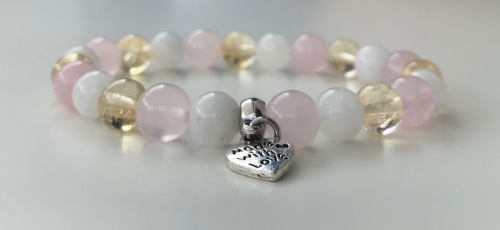 AMELIE HOPE CRYSTAL HEALING NEW MUM BRACELET