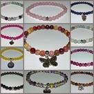 Bracelets - 6mm stones