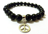 ONYX FOR MEN AMELIE HOPE CRYSTAL HEALING BRACELET