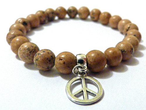PICTURE JASPER FOR MEN AMELIE HOPE CRYSTAL HEALING BRACELET