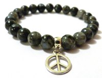 LABRADORITE FOR MEN AMELIE HOPE CRYSTAL HEALING BRACELET
