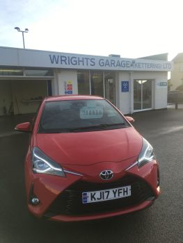 2017 Toyota Yaris Excel  SOLD