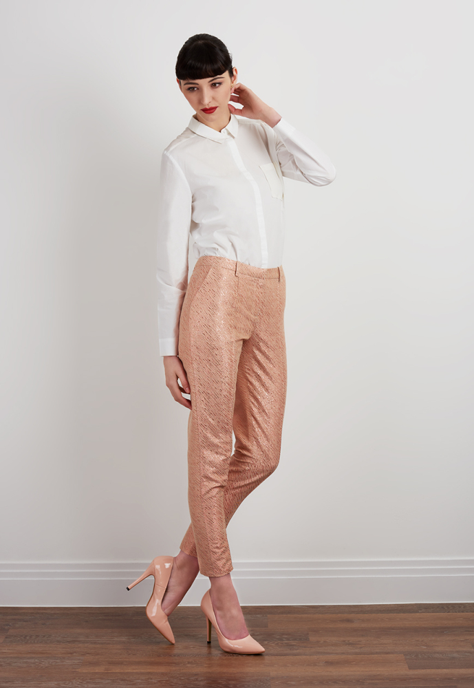 Eve Jacquard Trousers