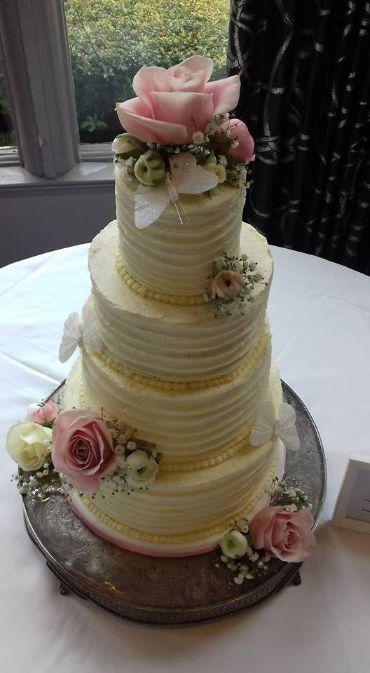 buttercream wedidng cakes Bristol