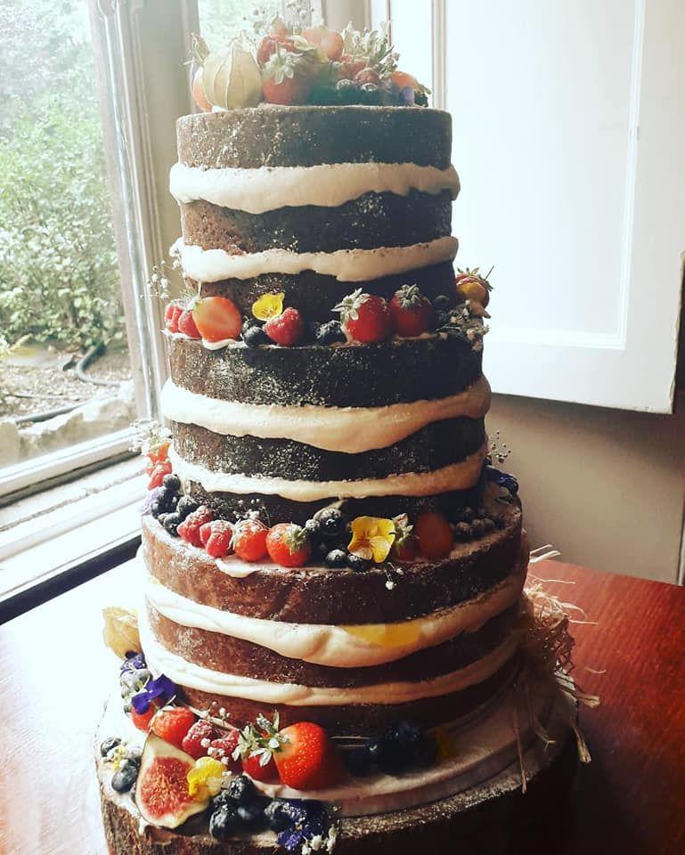 naked wedding cakes Bath