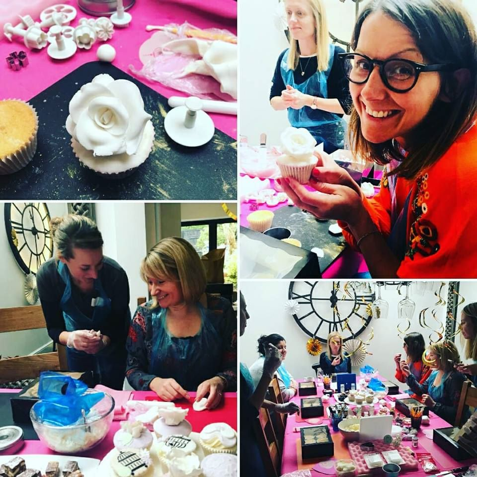 hen do cupcake parties Bath